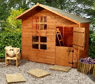 timber playhouse